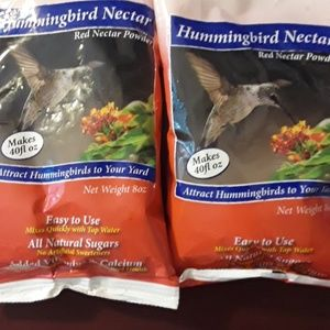2 Packs Hummingbird Nectar 40 Fl Oz Ea for Feeders